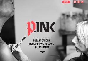 乳がん女性の希望に......。体も心も傷跡をカバーしてくれる