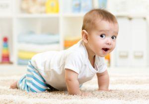 運動機能の発達に欠かせないハイハイは、赤ちゃんの世界を大きく広げる