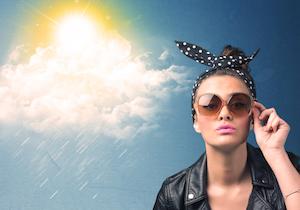 「目肌焼け」予防にサングラスを! 肌のシミの原因は<目からの紫外線>?の画像1